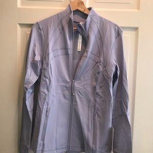 Lululemon Define Jacket NWT 12 BERRY MIST lavender